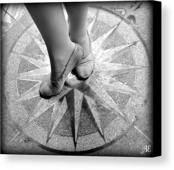 Dancer Canvas Print featuring the photograph Dancing In The Right Direction by Abigail Eremic