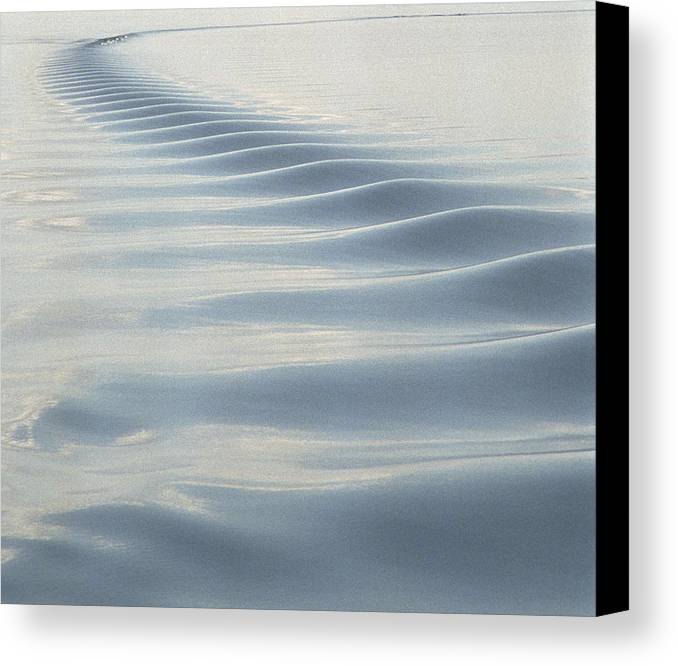 Alaska Canvas Print featuring the photograph Wake by Marcus Best