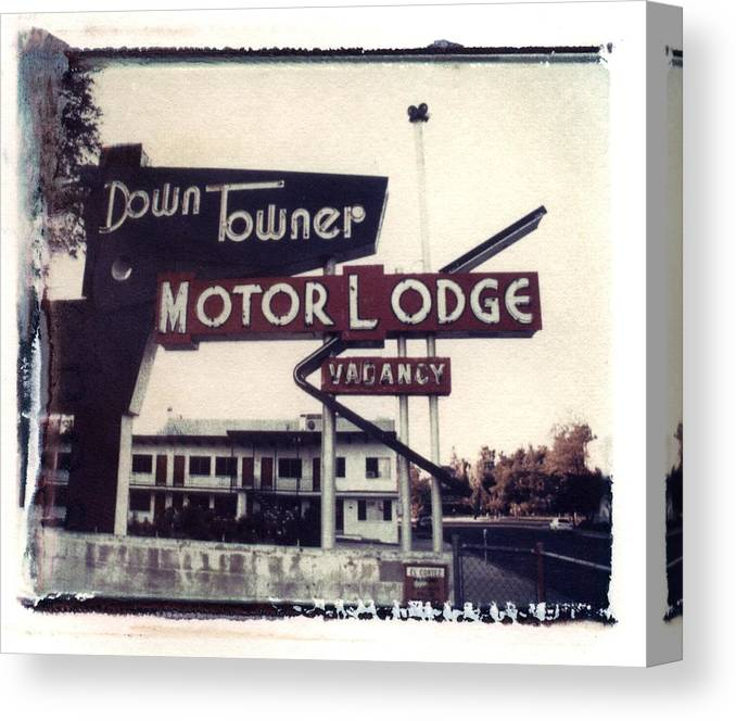 Landscape Canvas Print featuring the photograph Down Towner by Jane Linders
