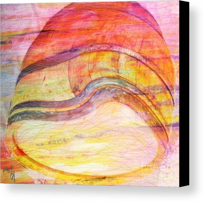 Bumped Wine Barrel Canvas Print featuring the painting Bumped Wine Barrel by PainterArtist FIN