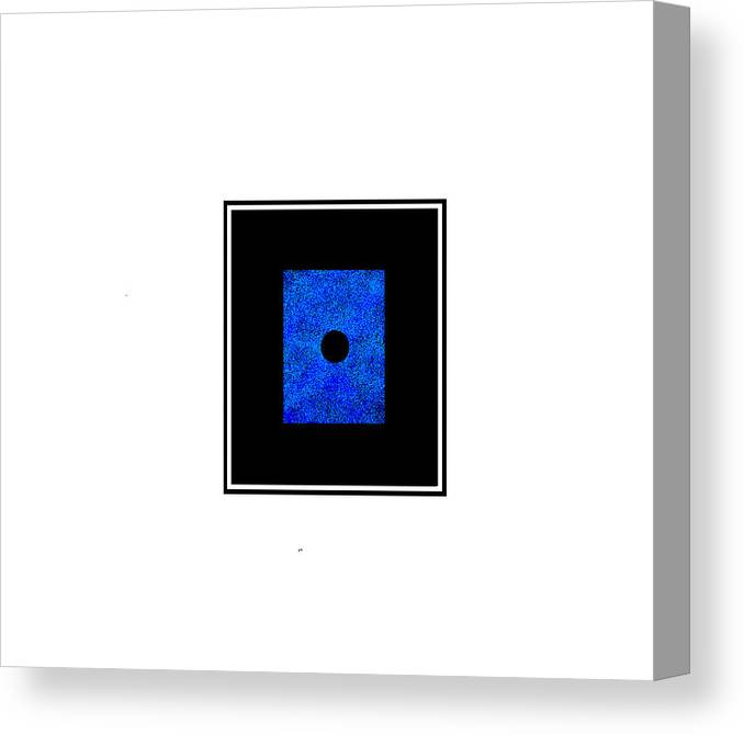 Canvas Print featuring the digital art 112 by Armand Trawick