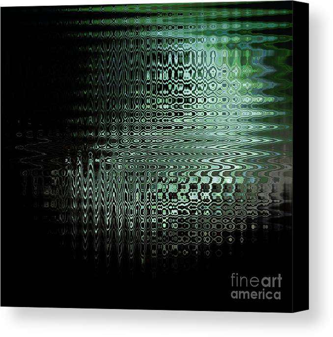 Night Canvas Print featuring the photograph Little Squares by Rajiv Chopra
