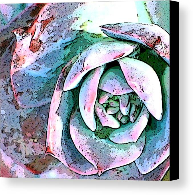 Floral Canvas Print featuring the photograph Nature Series by Ginger Geftakys