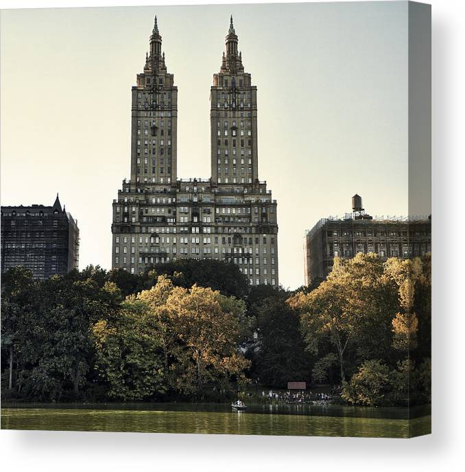 The San Remo Building Canvas Print featuring the photograph The San Remo by Kenneth Ortiz