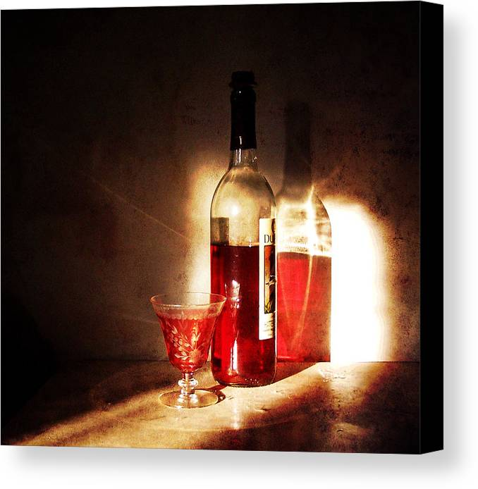 still Life Canvas Print featuring the photograph Morning And Night by Deborah Smith