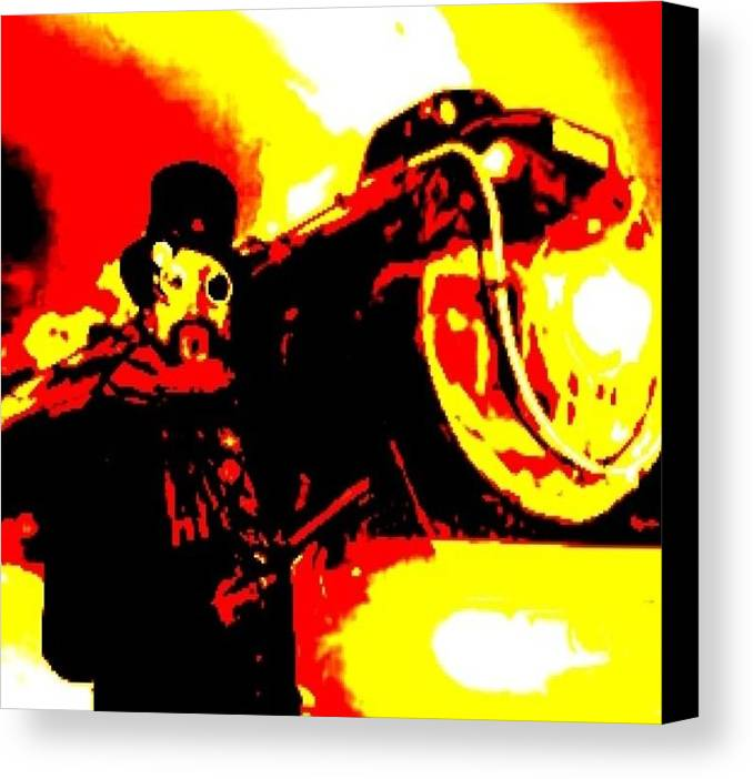 Steam Punk Canvas Print featuring the digital art Steam Punk Style by Larry E Lamb