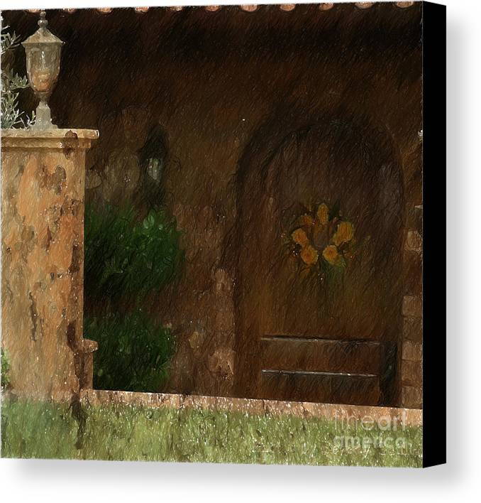 Light Canvas Print featuring the photograph The Entrance Way by Beverly Guilliams