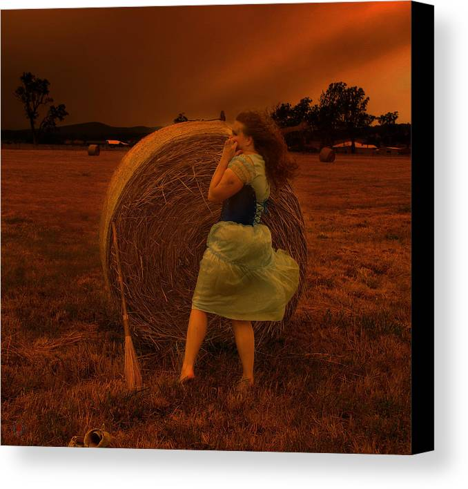 Strawberries Canvas Print featuring the photograph The Waiting Game by Eating Strawberries