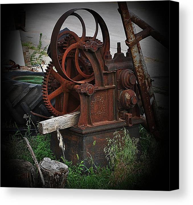 Machine Canvas Print featuring the photograph Machine No. 243 by Joshua Burcham
