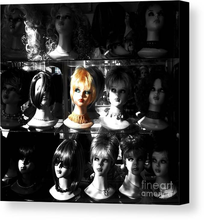 Newel Hunter Canvas Print featuring the photograph Chosen - Limited Edition by Newel Hunter