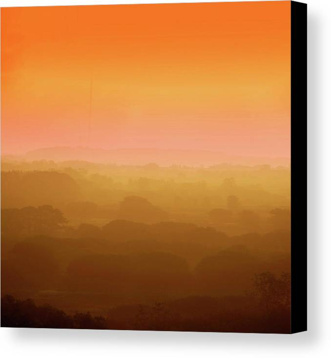 Horizontal Canvas Print featuring the photograph Landscape In Light by Ulrich Mueller