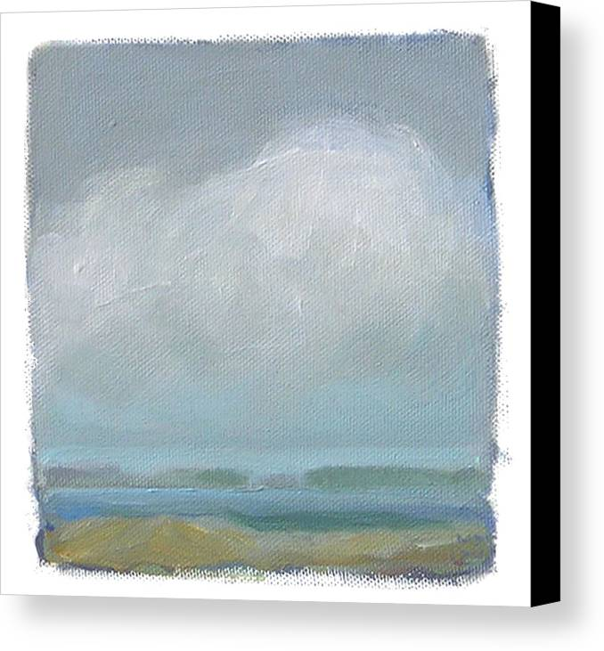 Landscape Canvas Print featuring the painting Untitled by Mary Brooking