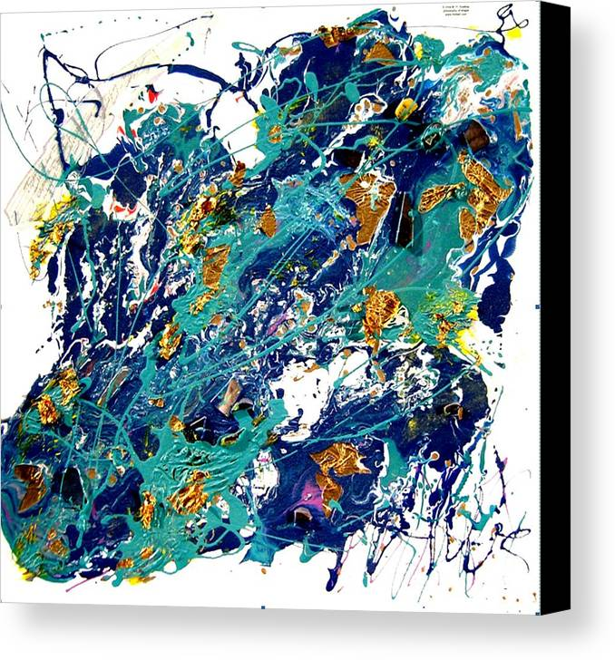 Abstract Canvas Print featuring the painting Venus by Irma Hinghofer-Szalkay