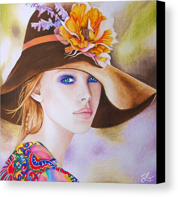 Spring Canvas Print featuring the painting Renewal by Alaina Ferguson