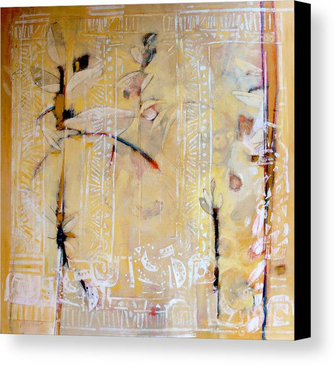 Tropical Canvas Print featuring the painting Quiet Tropics by Dale Witherow