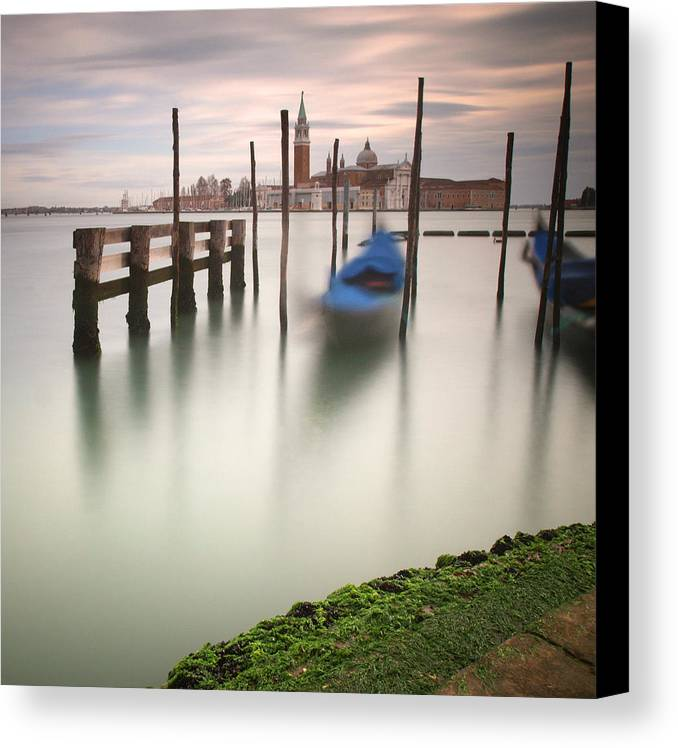 Venice Canvas Print featuring the photograph Venetian Dream by Nina Papiorek