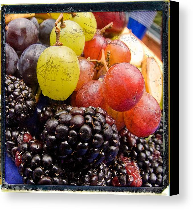 Fruit Canvas Print featuring the photograph Fresh Not Frozen by Jeffery Ball