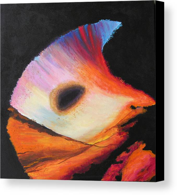 Abstract Canvas Print featuring the painting Inspire Two by Stan Hamilton