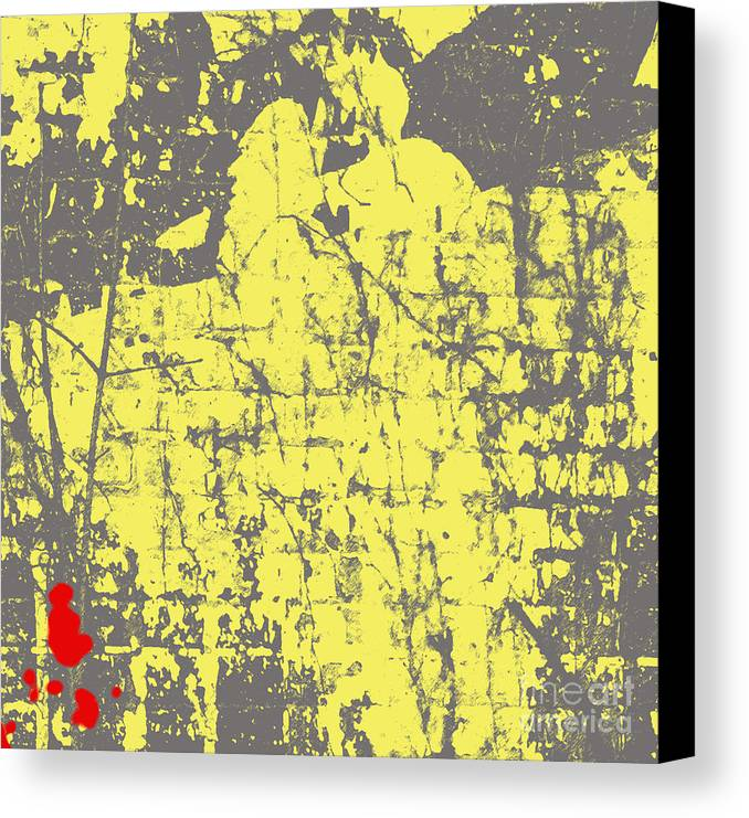 Abstract Canvas Print featuring the photograph Native American- Abstract by Gary Everson