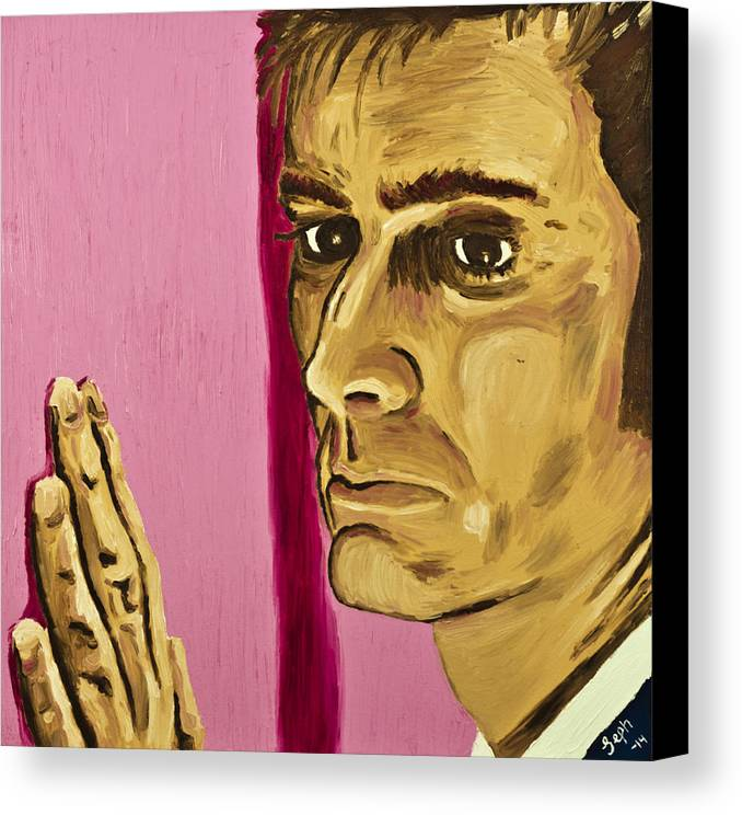 Doctor Who Canvas Print Featuring The Painting Obstacles Side Two By Jeph WHO