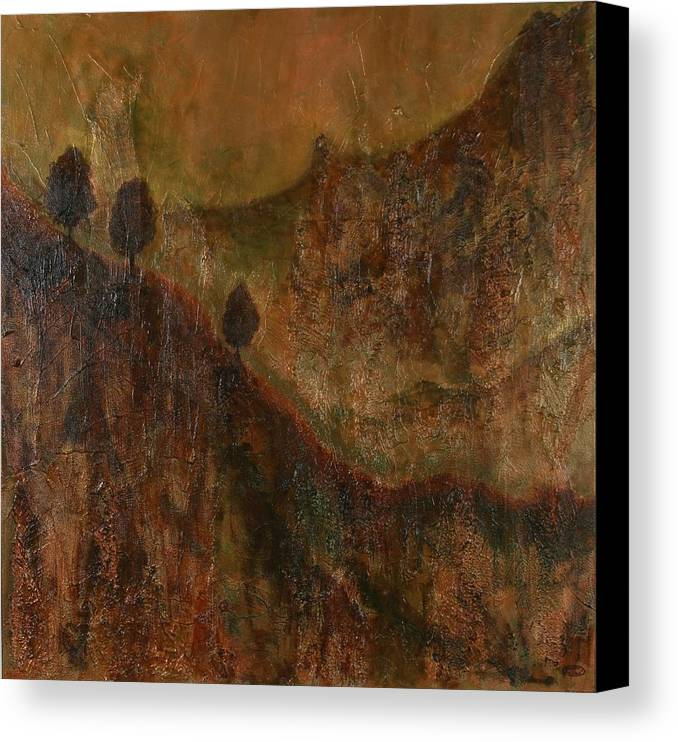 Original Acrylic Mixed Media Abstract Canvas Print featuring the painting Transition by Sharon Steinhaus