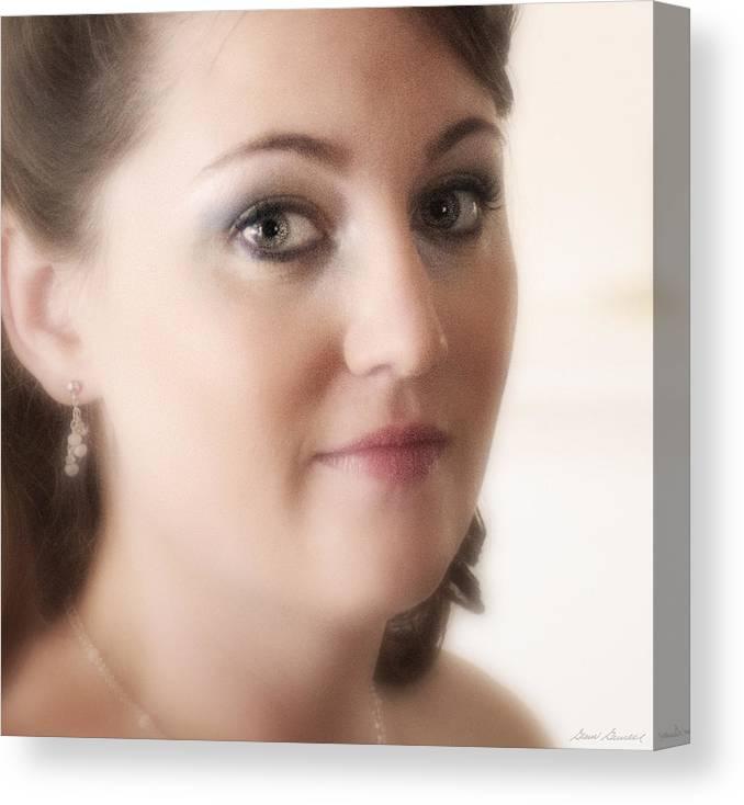 Megan Stepp Canvas Print featuring the photograph Megans Eyes by Glenn Gemmell