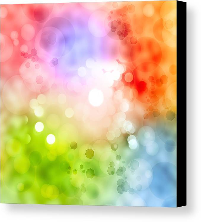 Abstract Canvas Print featuring the photograph Abstract Background by Les Cunliffe