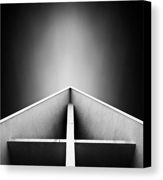 Arctic Canvas Print featuring the photograph Arctic Cathedral by Dave Bowman