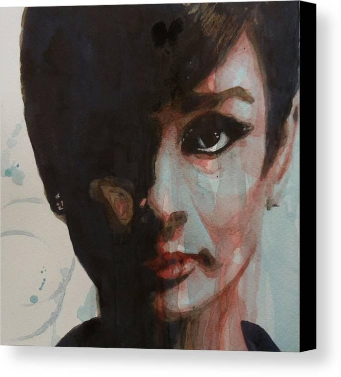Audrey Hepburn Canvas Print / Canvas Art by Paul Lovering