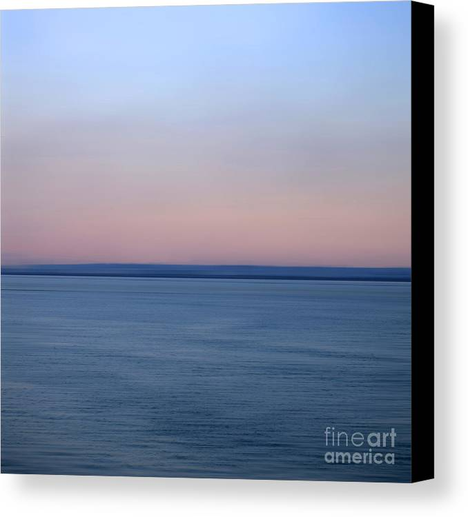 Outdoors Canvas Print featuring the photograph Calm Sea by Bernard Jaubert