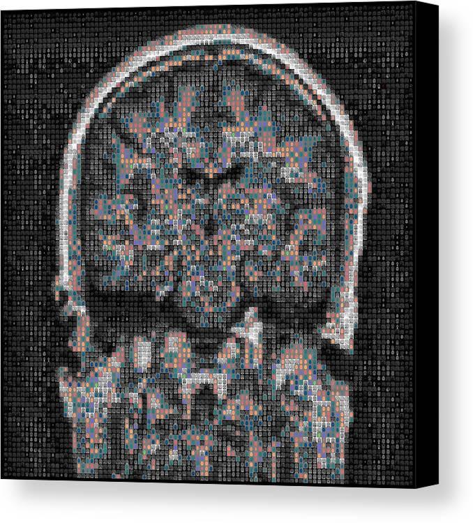 Digital Art Canvas Print featuring the digital art Coronation by Paul Franklin Smith