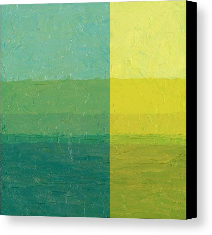 Day Canvas Print featuring the painting Daybreak by Michelle Calkins
