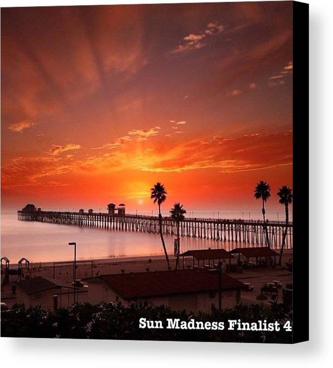 Canvas Print featuring the photograph Friends, One Of My Photos In The by Larry Marshall