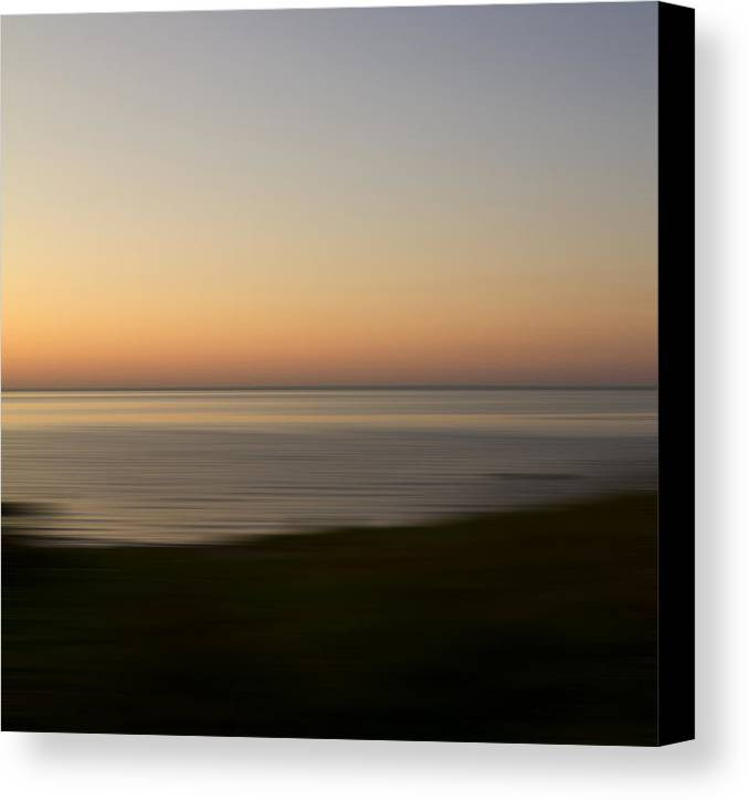 Impressionist Canvas Print featuring the photograph Glow by Bob Retnauer