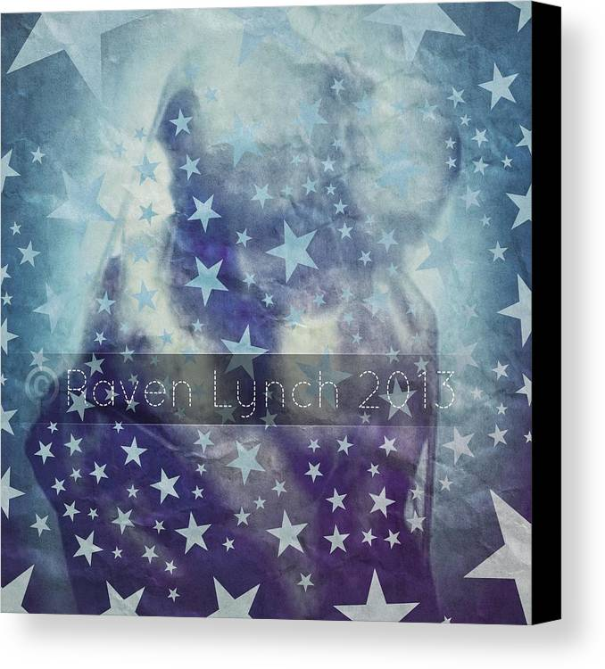 Digi-art Canvas Print featuring the digital art I See Stars by Raven Lynch