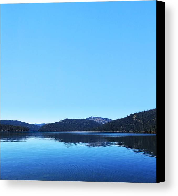 Lake Canvas Print featuring the photograph Lake In California by Dean Drobot