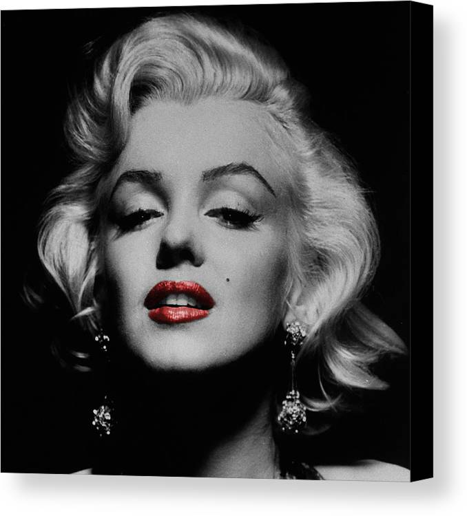 Marilyn Monroe Canvas Print featuring the photograph Marilyn Monroe 3 by Andrew Fare