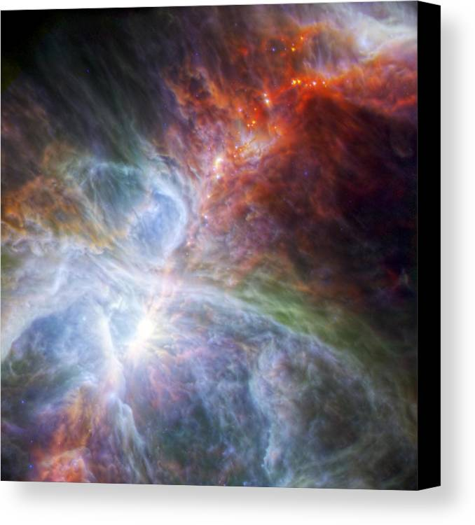 3scape Photos Canvas Print featuring the photograph Orion's Rainbow Of Infrared Light by Adam Romanowicz