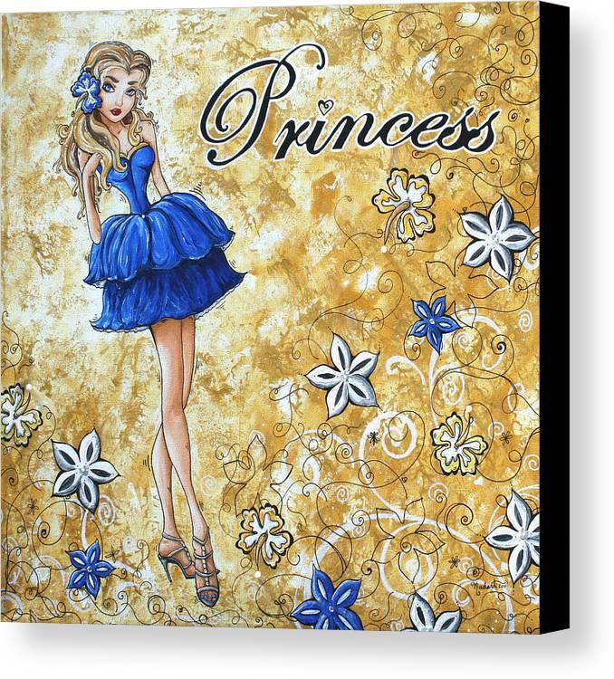 Princess By Madart Canvas Print / Canvas Art by Megan Duncanson