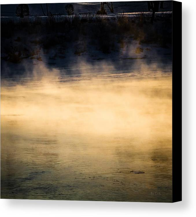 Nature Canvas Print featuring the photograph River Smoke by Bob Orsillo