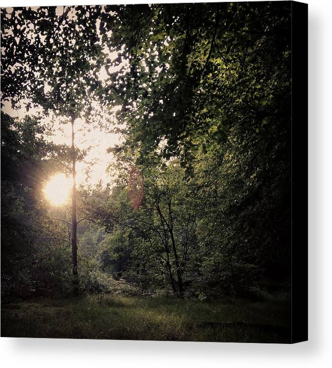 Landscape Canvas Print featuring the photograph Soul Clearance - High by Guy Hay