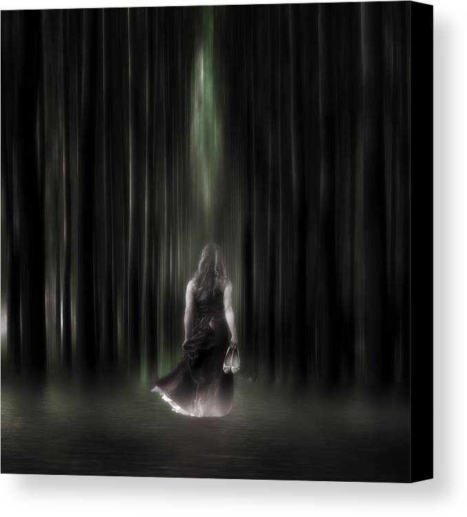 Woman Canvas Print featuring the photograph The Forest by Joana Kruse