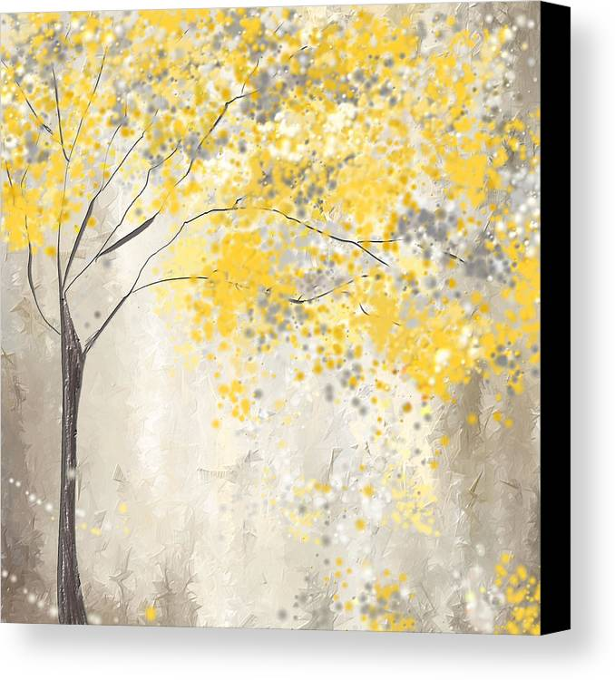 Yellow And Grey Wall Art yellow and grey canvas prints and yellow and grey canvas art