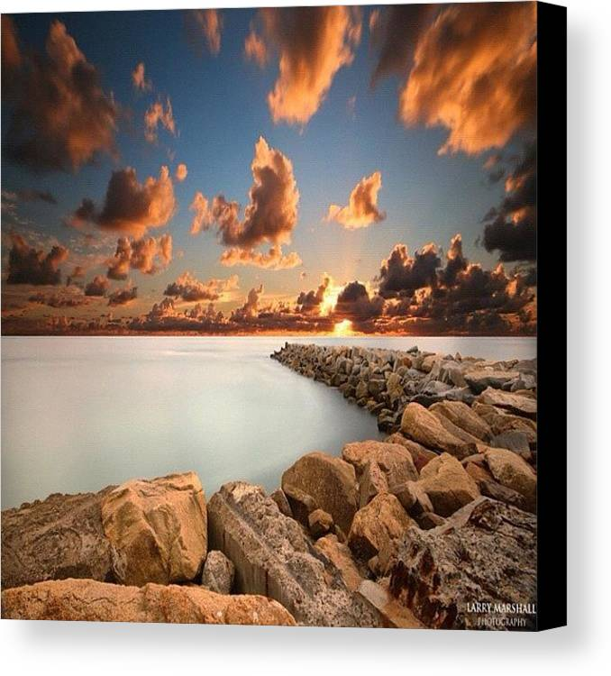 Canvas Print featuring the photograph Instagram Photo by Larry Marshall