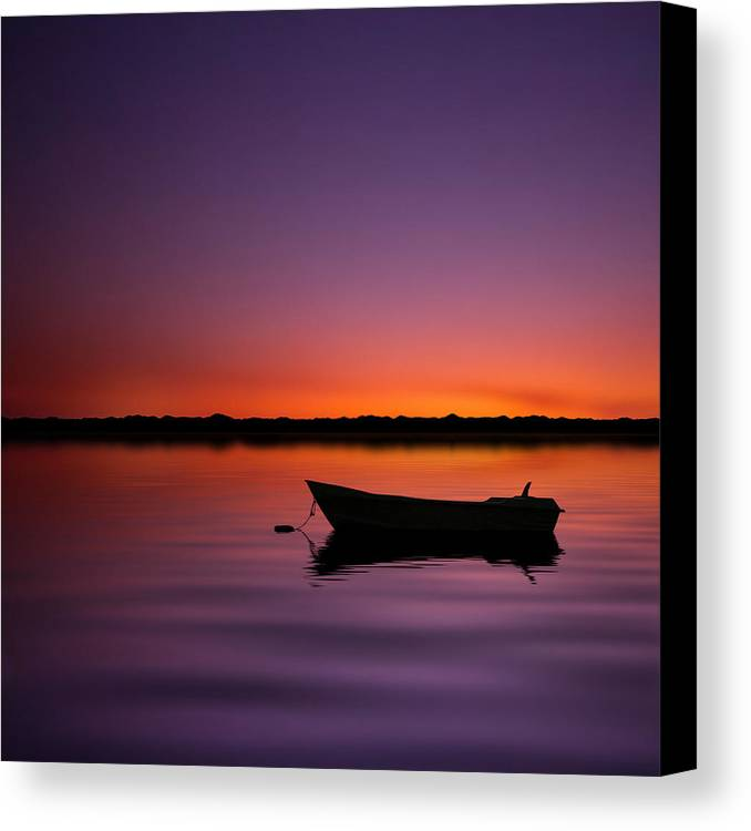 Square Canvas Print featuring the photograph Enjoying Serenity by Carlos Gotay