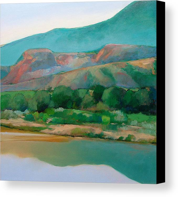 Chama River Canvas Print featuring the painting Chama River by Cap Pannell