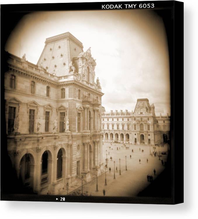 Paris Canvas Print featuring the photograph A Walk Through Paris 20 by Mike McGlothlen