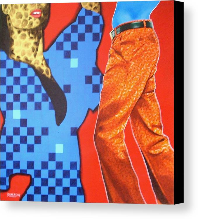 Fantacy Canvas Print featuring the painting Floating Fantacy 14 by Bharat Gothwal
