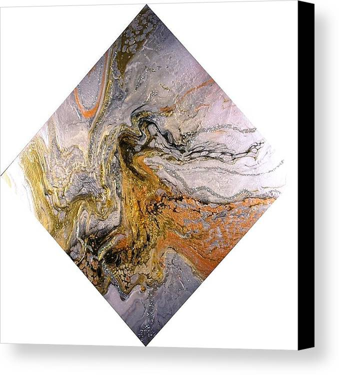 Abstract Canvas Print featuring the painting Goddess by Patrick Mock