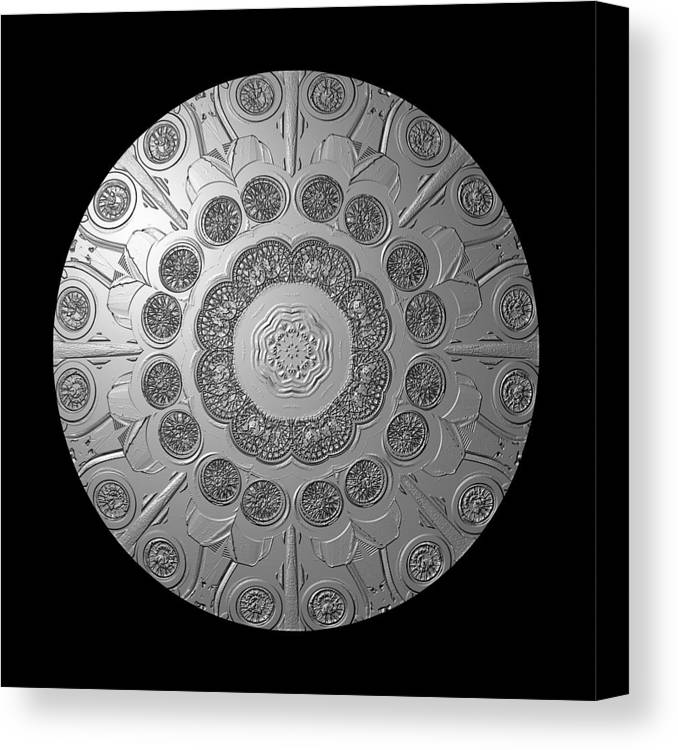 Shield Canvas Print featuring the photograph Graphic Number Two by Roger Soule